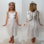 ANGEL DELUXE CHILDRENS FANCY DRESS COSTUME